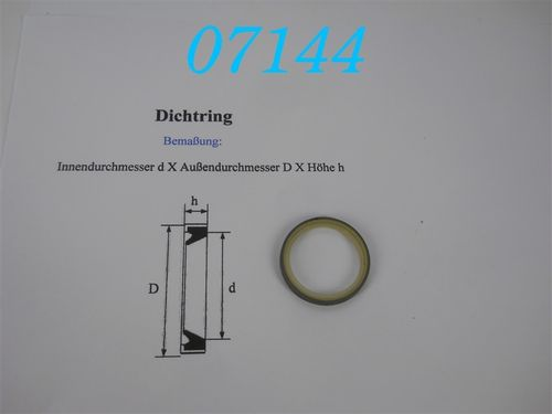SD30x37x4mm Dichtring